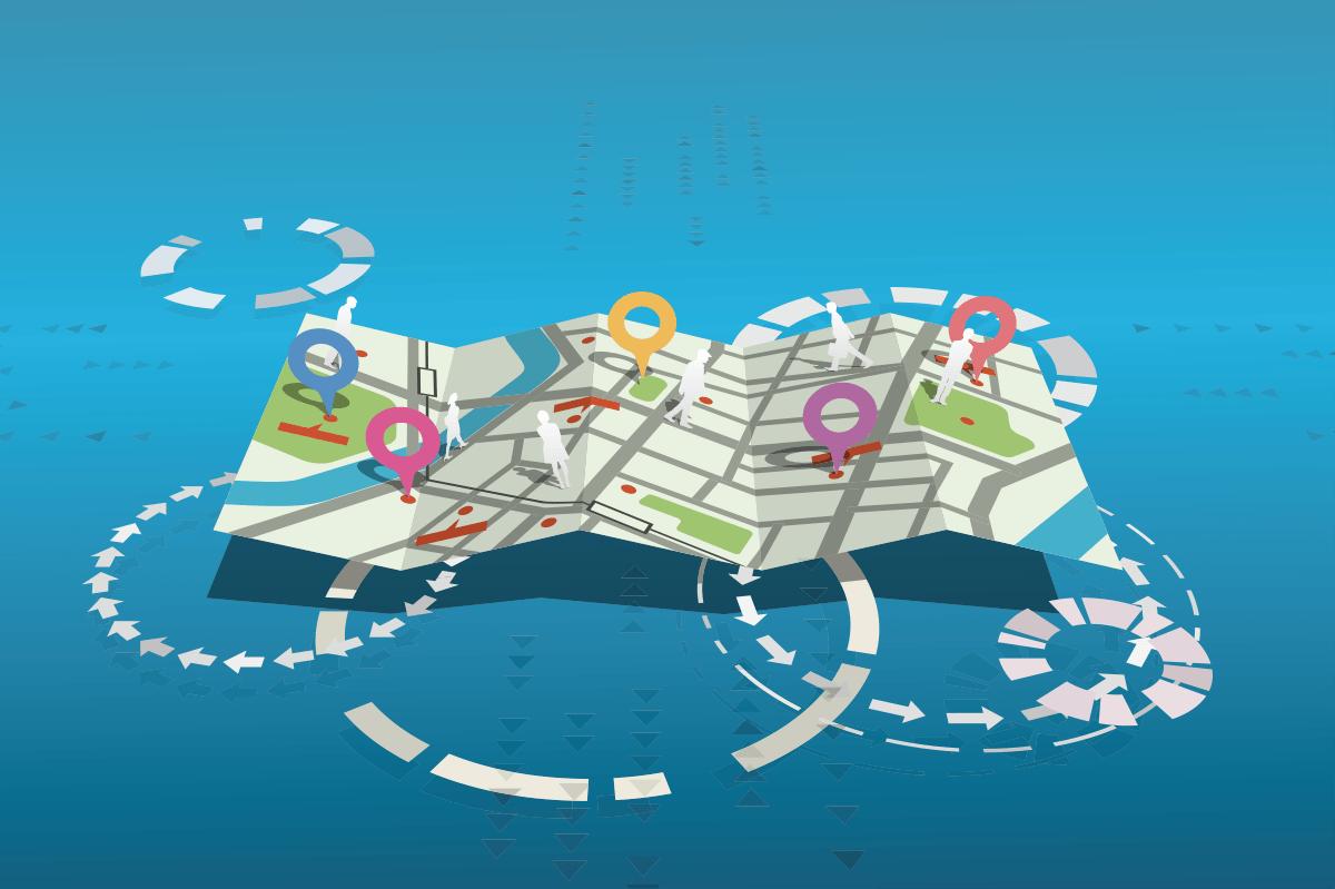 地図で活性化